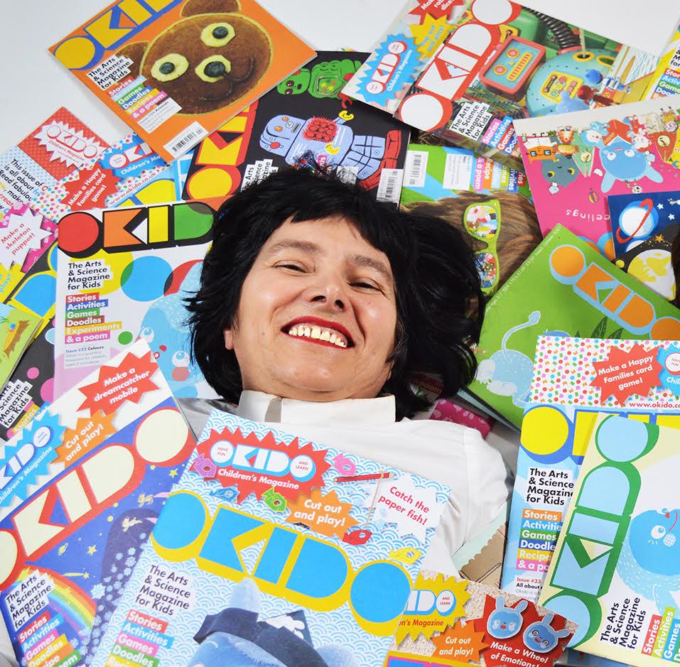 Meet Rachel Ortas - creator of Messy Monster and OKIDO magazine for children